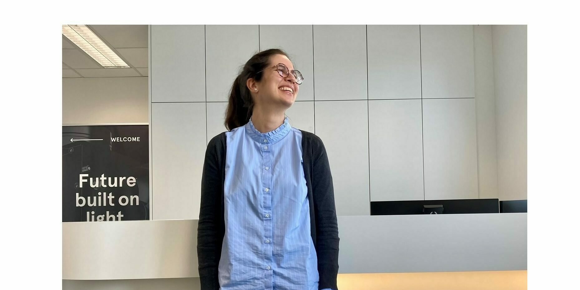 Cristine Calil Kores newest team member of optical design team at In-Vision