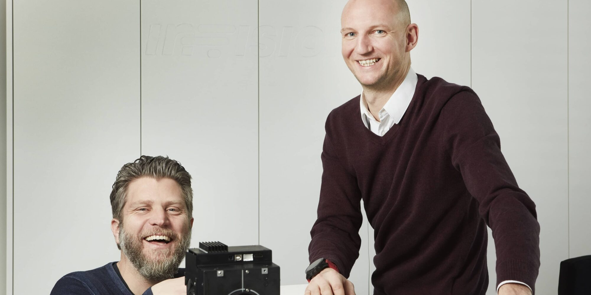 Florian Zangerl (CEO) and Christof Hieger (CTO), In-Vision