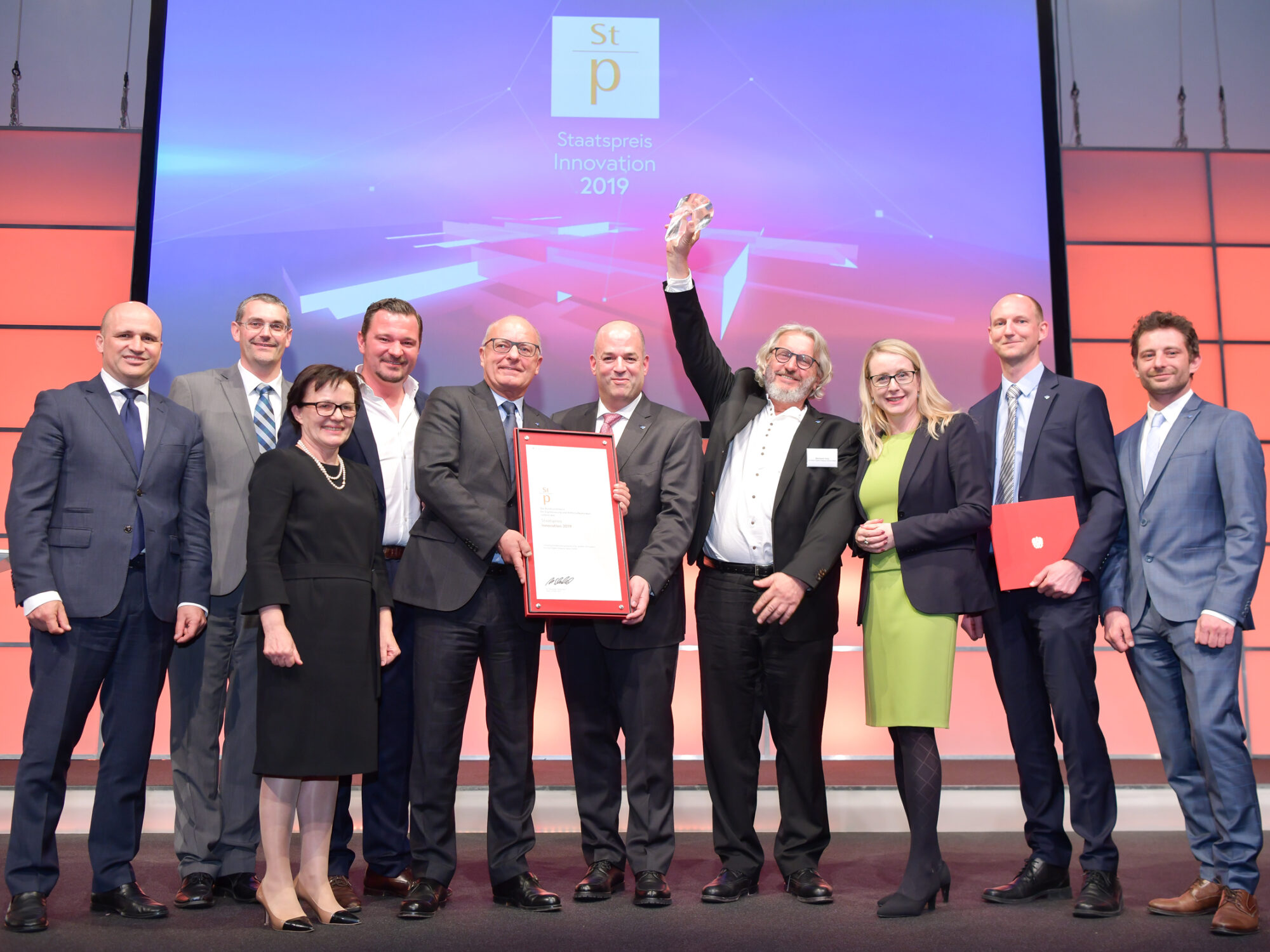 Award winning of the Austrian State Prize of Innovation