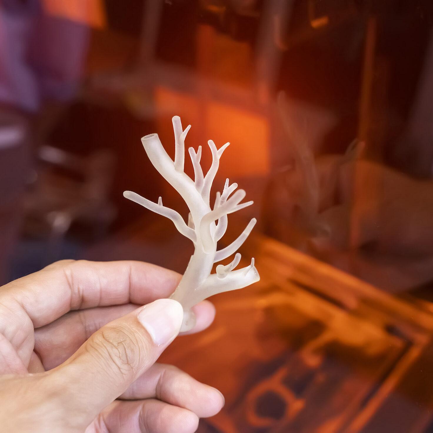 3D-printed blood vessels