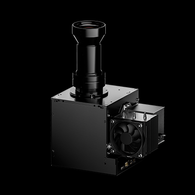 Ikarus Light Engine: a powerfull, lightweight DLP-Based UV Projector