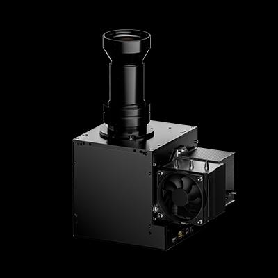 Ikarus Light Engine: a powerfull, lightweight DLP-Based UV Projector