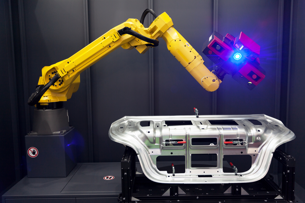 Robot for optical metrology